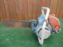 Vintage Homelite Super Zip Chainsaw Chain Saw With 16 Bar