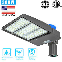 Dusk To Dawn 9pc 300w Led Street Lights With Sensor For Commercial Area Lighting