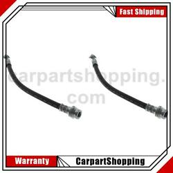 2 Centric Parts Brake Hydraulic Hose Rear Lower For Isuzu Amigo