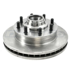 Disc Brake Rotor And Hub Assembly Front Iap Dura Br55081