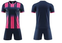 Custom Made Soccer Uniforms Sublimation Soccer Jersey And Short Free Dhl Shipping