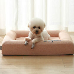 Luxury Dog Couch Cat's House Square Pet Lounger Bed Sofas Washable Sleep Point