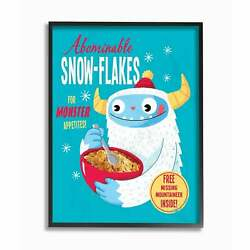 The Stupell Home Dandeacutecor Collection Abominable Snow-flakes