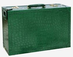 Terrida Royal Suitcase Xs Garment Bag Travel Trolley Real Embossed Calf Leather