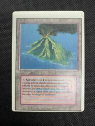 Used Excellent+ Mtg Volcanic Island Legacy Magic The Gathering Trading Card