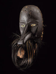Fine Antique Dan Mask Very Rare Old Germany Collection