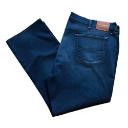 Euc Lucky Brand 181 Relaxed Straight Dark Wash Jeans Size 52x34 Stretch Seagrass
