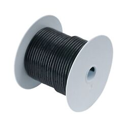 Ancor 8 Awg 8mm 250ft. Tinned Copper Wire Black