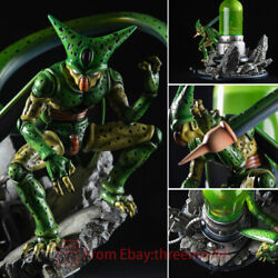 Dragon Ball Z Gk Cell Laboratory Statue Limited Edition Collectible Figure New