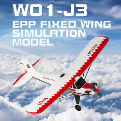 W01-j3 2.4ghz 3ch Rc Fixed Wing 505mm Wingspan 6-axis Gyroscope Rtf Rc Airplane