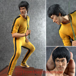 China.x-h Bruce Lee Statue 1/6 80th Death Game Master Of Kung Fu In Stock New