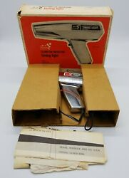 Sears Clamp On Inductive Timing Light 244 21172 Vintage Chrome In Original Box