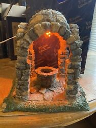 """Fontanini Nativity Lited Dome Well 8"""" 94884 From 1999"""
