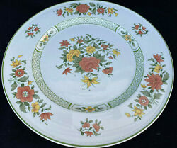 1 Round Chop Plate Platter Villeroy Boch Summer Day Floral Germany 109676 12.75