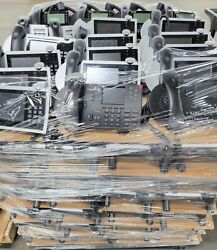 Pallet Of Mixed Shoretel / Mitel - Voip Poe Business Office Phone Systems