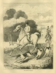Fox Hunting The Hunt Is Complete Time For Horse Hunters Dogs To Return To Kennel