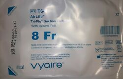 30 Suction Catheters Airlife Tri-flo With Control Port 8fr. Condition Is New