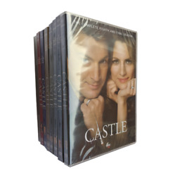 Castle The Complete Series Seasons 1-8 [dvd Box Set]- Brand New Sealed Usa