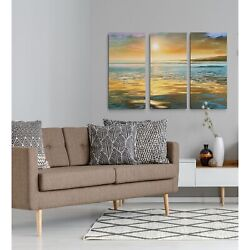 Evening Calm-a Premium Multi Piece Art Available In 3 Sizes Oversized
