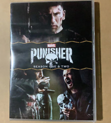 The Punisher Complete Seasons 1 And 2 Dvd Region 1 Us Brand New