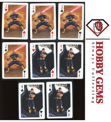 Cyclops 2003 X-men Playing Cards Jack And Four Of Hearts, Diamonds, Spades Andclubs