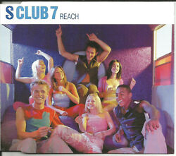 S Club 7 Reach W/ Eiffel 65 Mix And Unrelased And Video Cd Single Sealed Usa Seller