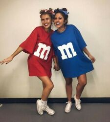 Mandm Dress Style T-shirt Costume, Check Description For Sizing, Red, Large