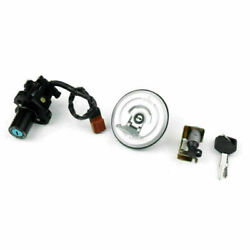 Ignition Switch Fuel Gas Cap Cover Seat Lock Keys Set For Honda Cbr250 13-17 Ef9