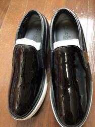 Louis Vuitton Thick Bottom Enamel Shoes Size Notation 37.5 Black