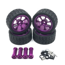 65mm Metal Wheel Rim Tires Tyres With 12mm Lengthened Adapter For Wltoys 14 N2i1