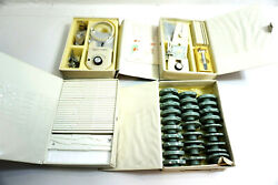 Set Of Sears Kenmore Sewing Machine Attachments - Cams Monogram Templates Etc