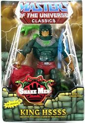 Damaged Package Masters Of Universe Classics King Hssss Snake Men Figure Motu