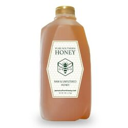 5 lbs. of 100% Raw Unfiltered amp; Unheated Georgia Honey New 2021 Crop