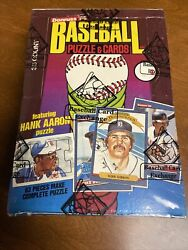 + 1986 Donruss Baseball Unopened Wax Box Bbce Wrapped Clean
