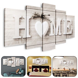 5pcs Unframed Modern Wall Art Painting Print Canvas Picture Home Room Decor Gift