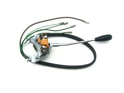 Classic Mini Turn Signal Switch Complete With Steering Column Shroud Mk1