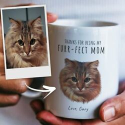 Personalized For The Furr Fect Mom Perfect Gift For Cat Mom Or Cat Lover $13.99