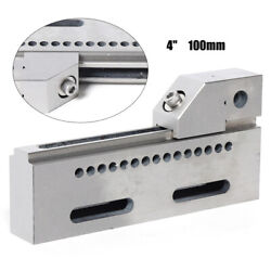 Wire Edm Vise High Precision Stainless Steel Edm Vise 8 Jaw Opening 100mm