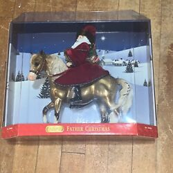 2004 Father Christmas Eighth In A Series Of Breyer Holiday Horses