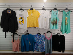 Wholesale Lot Of 11 Size Xl X Large Womens Clothes T Shirt Blouse Tank Tops 402