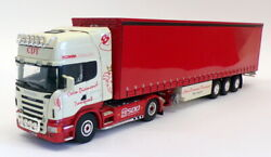 Lion Toys 1/50 Scale Lt1719 - Scania Truck And Trailer - Calm Diamond Trans.