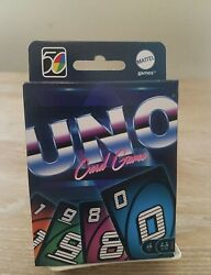 Uno Iconic 1980and039s Retro 50th Ann. 80andrsquos 2 Of 5 In Series Special Edition New