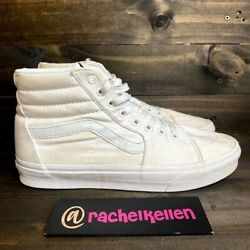 VANS Off The Wall High Tops MENS US 10 WHITE Sneaker Skater Shoes