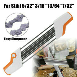 Metal Chainsaw File Sharpener Grinding For Stihl 3/8'' 5/32'' 7/32'' 3/16''