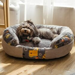 Dog Cat Bed House Kennel Nest Warm Pet Nest Litter Cute Washable Dog Kennel Sofa