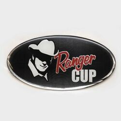 Ranger Boat Raised Decal 7603513 | 2016 Red 4 3/4 X 2 3/8 Inch Black