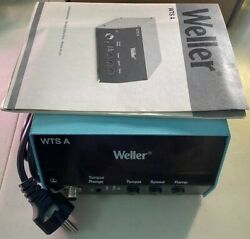 Weller 240v Analogue Power Supply Unit For Electric Screwdrivers Italy