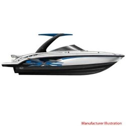 Chaparral Boat Hull Graphic 14.00396   Ssx 236 Blue Carbon 4 Pc Set