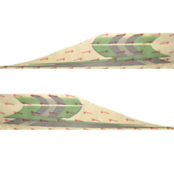 Larson Boat Decals 8624-1434-00 | 238 / 358 Lxi Lime Green Set Of 2