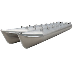 Pontoon Boat Float Log Tube   21 Ft X 23 Inch Pair - Scratches